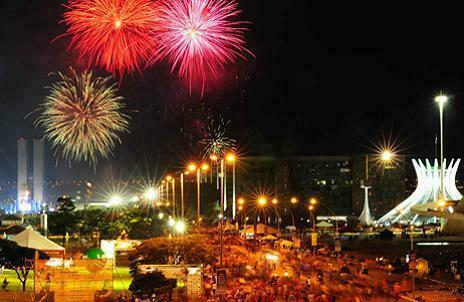 Festas de Réveillon em Brasília (DF) 2017