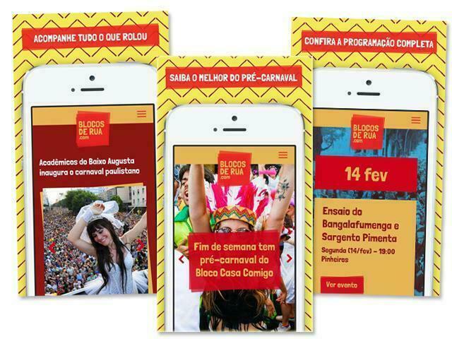 Aplicativo com a Programação dos Blocos de Rua – Carnaval de São Paulo