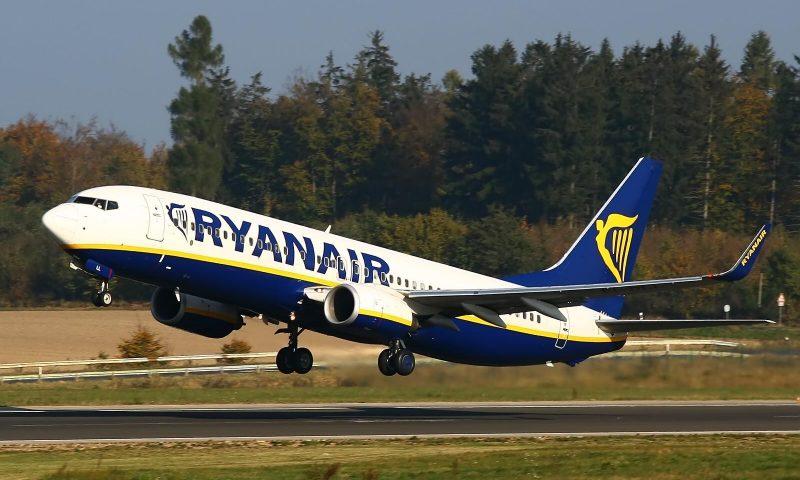 Ryanair inicia voos diretos entre Brasil e Europa