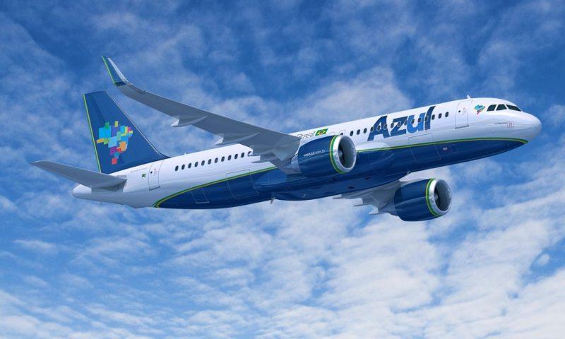 Azul ofertará voos para novos destinos brasileiros