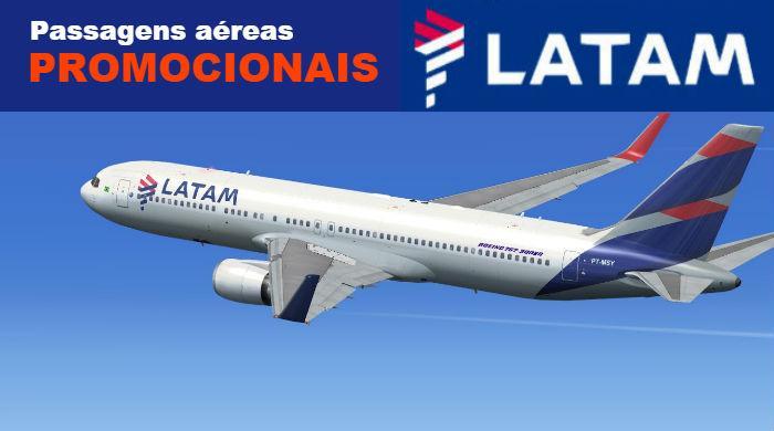 Passagens Aéreas em Promoção na Latam – Voos de Vitória a São Paulo